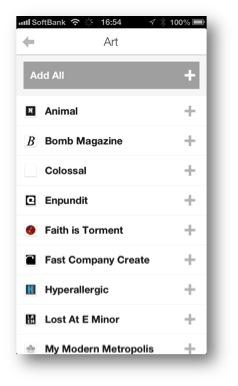 Digg.comで発見されたコンテンツをReaderにも提供