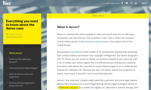 "Vox.com ""Everythig you need to know about the Aereo case"""