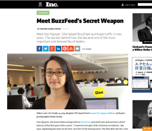 Meet BuzzFeed's Secret Weapon