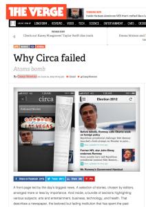 The Verge, Why Circa failed