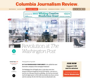 Revolution at The Washington Post